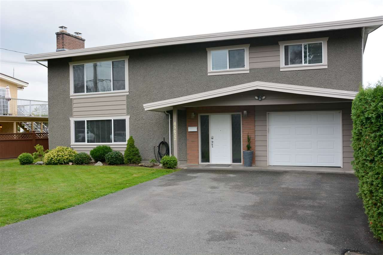 Main Photo: 45622 NELMES Street in Chilliwack: Chilliwack N Yale-Well House for sale : MLS®# R2209709