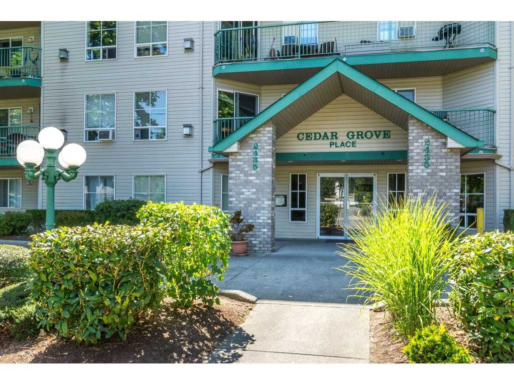 "Main Photo: 401 2435 CENTER Street in Abbotsford: Abbotsford West Condo for sale in ""Cedar Grove Place"" : MLS®# R2231720"