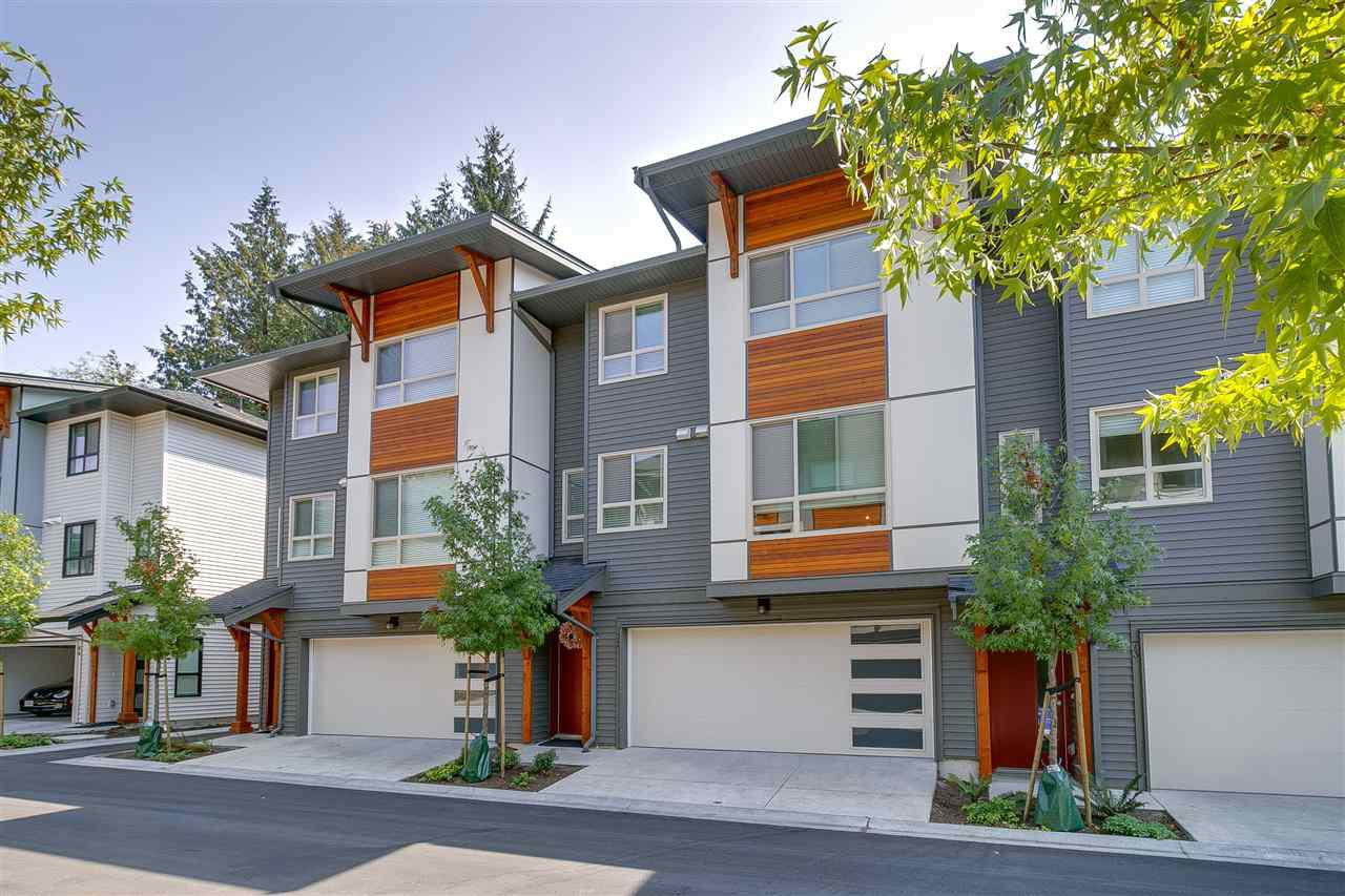 "Main Photo: 72 8508 204 Street in Langley: Willoughby Heights Townhouse for sale in ""ZETTER PLACE"" : MLS®# R2294651"