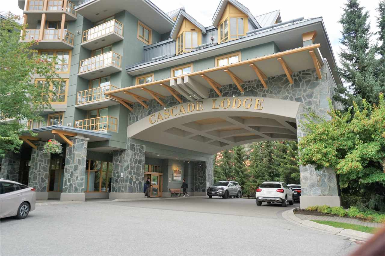 """Main Photo: 227 4315 NORTHLANDS Boulevard in Whistler: Whistler Village Condo for sale in """"CASCADE LODGE"""" : MLS®# R2303926"""