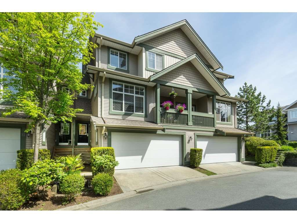 """Main Photo: 23 6050 166TH Street in Surrey: Cloverdale BC Townhouse for sale in """"WESTFIELD"""" (Cloverdale)  : MLS®# R2365390"""
