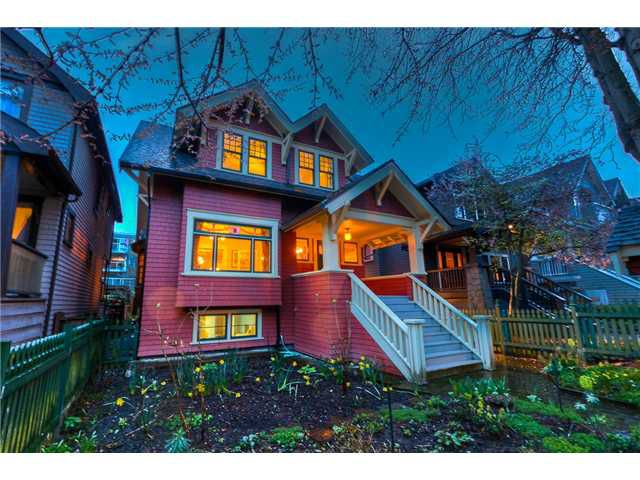 Main Photo: 2864 W 3RD Avenue in Vancouver: Kitsilano House for sale (Vancouver West)  : MLS®# V880454