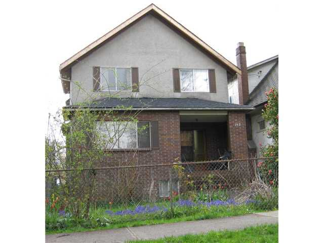 Main Photo: 762 E 10TH Avenue in Vancouver: Mount Pleasant VE House for sale (Vancouver East)  : MLS®# V885759