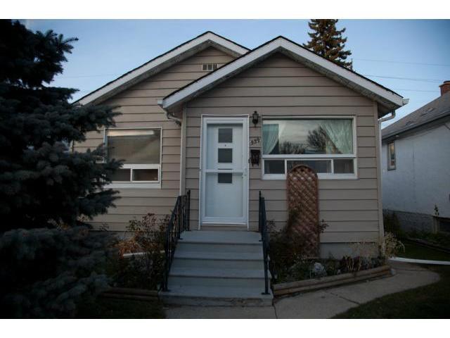 Main Photo: 539 Polson Avenue in WINNIPEG: North End Residential for sale (North West Winnipeg)  : MLS®# 1122442