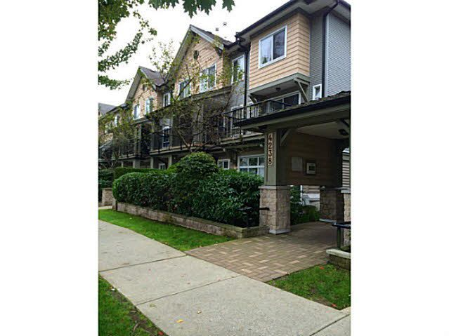 """Main Photo: 114 4238 ALBERT Street in Burnaby: Vancouver Heights Townhouse for sale in """"VILLAGIO ON THE HEIGHTS"""" (Burnaby North)  : MLS®# V1089614"""