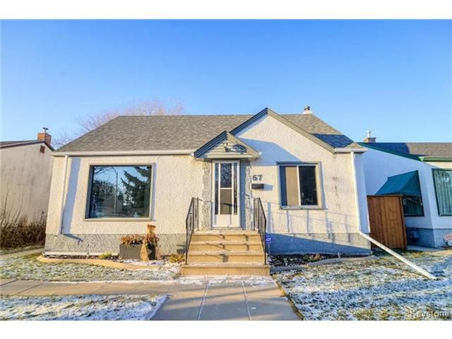 Main Photo: 67 Thorndale Avenue in WINNIPEG: St Vital Residential for sale (South East Winnipeg)  : MLS®# 1427856