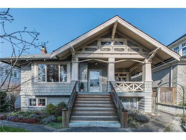 Main Photo: 2063 W 37TH Avenue in Vancouver: Quilchena House for sale (Vancouver West)  : MLS®# V1109855