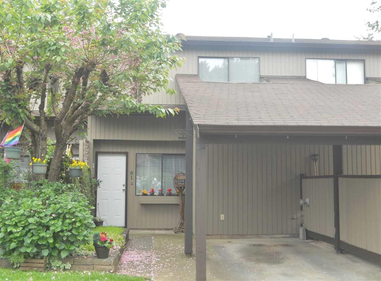 "Main Photo: 81 27044 32 Avenue in Langley: Aldergrove Langley Townhouse for sale in ""BERTRAND ESTATES"" : MLS®# R2061086"