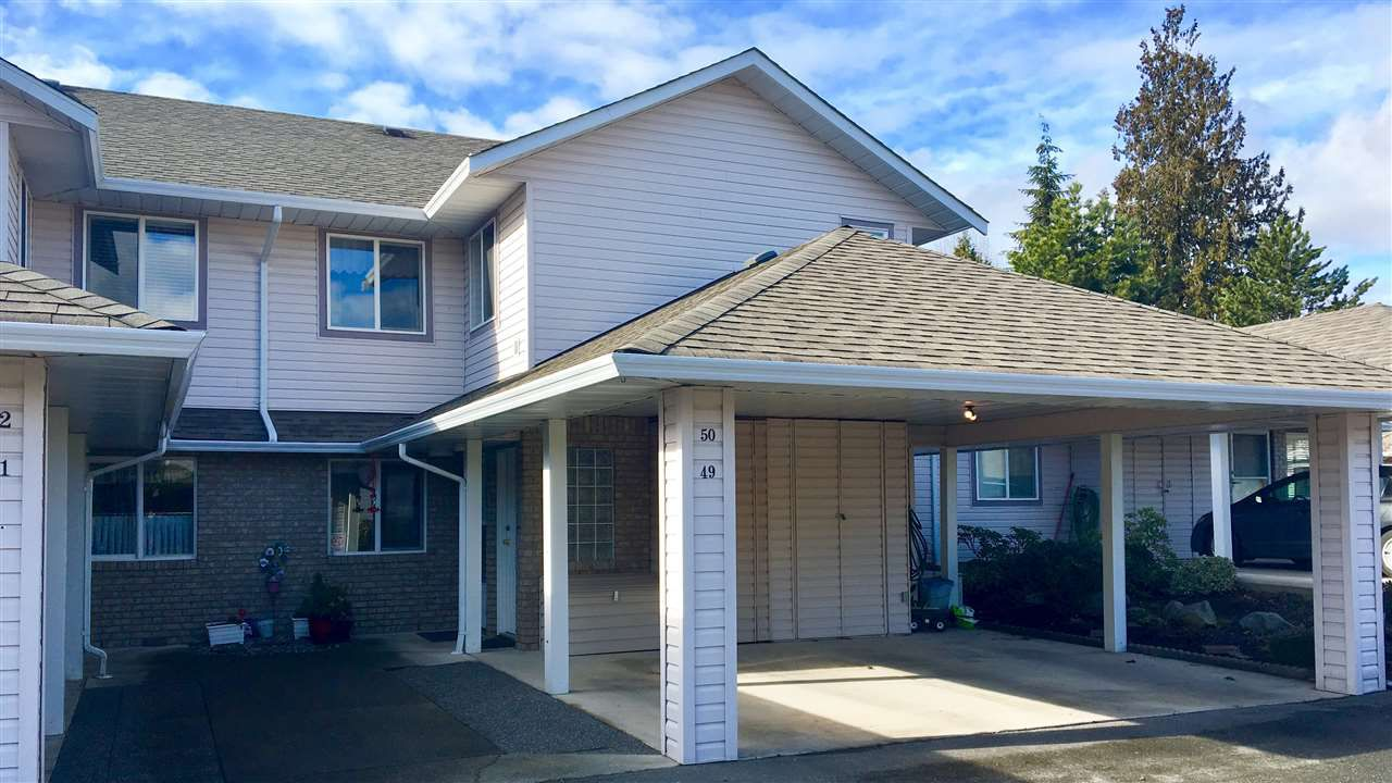"""Main Photo: 50 15020 66A Avenue in Surrey: East Newton Townhouse for sale in """"Sullivan Mews"""" : MLS®# R2139471"""