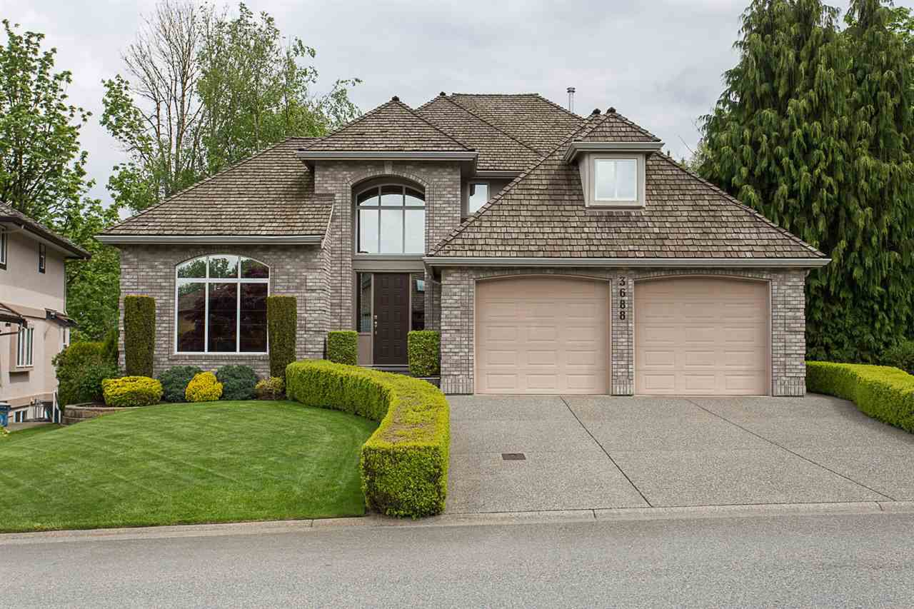 """Main Photo: 3688 COBBLESTONE Drive in Abbotsford: Abbotsford East House for sale in """"Creekstone On The Park"""" : MLS®# R2168701"""