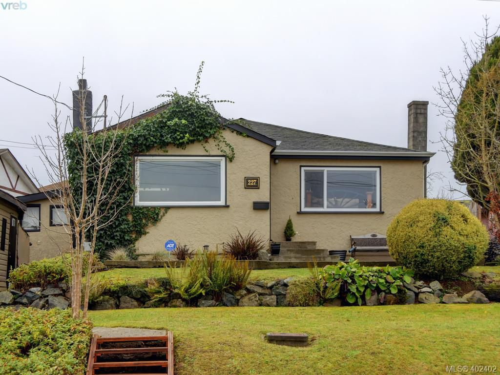 Main Photo: 227 Hampton Road in VICTORIA: SW Tillicum Single Family Detached for sale (Saanich West)  : MLS®# 402402