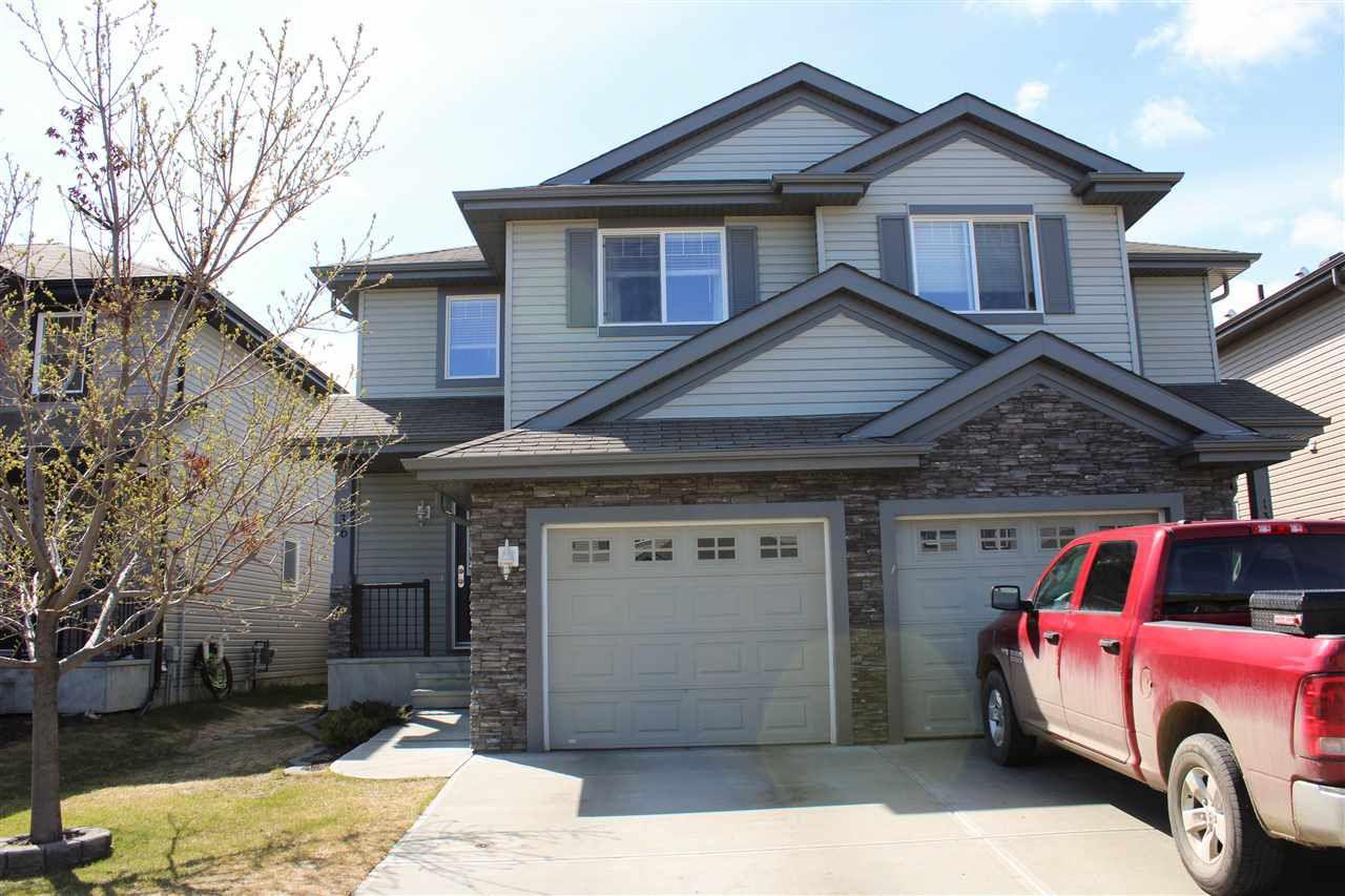 Main Photo: 136 CALVERT Wynd: Fort Saskatchewan House Half Duplex for sale : MLS®# E4155720