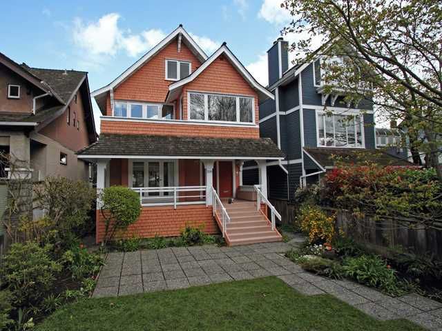 Main Photo: 3011 W 3RD Avenue in Vancouver: Kitsilano House for sale (Vancouver West)  : MLS®# V884639