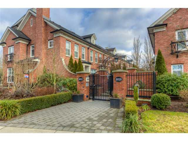 """Main Photo: 19 5812 TISDALL Street in Vancouver: Oakridge VW Townhouse for sale in """"TOWNE 1"""" (Vancouver West)  : MLS®# V1048379"""