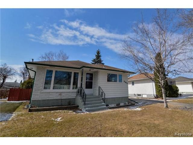 Main Photo: 484 Greene Avenue in WINNIPEG: East Kildonan Residential for sale (North East Winnipeg)  : MLS®# 1507674