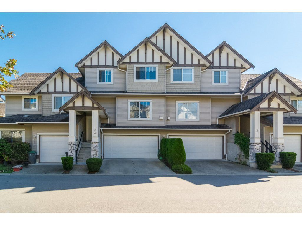 "Main Photo: 22 18181 68TH Avenue in Surrey: Cloverdale BC Townhouse for sale in ""MAGNOLIA"" (Cloverdale)  : MLS®# R2111179"