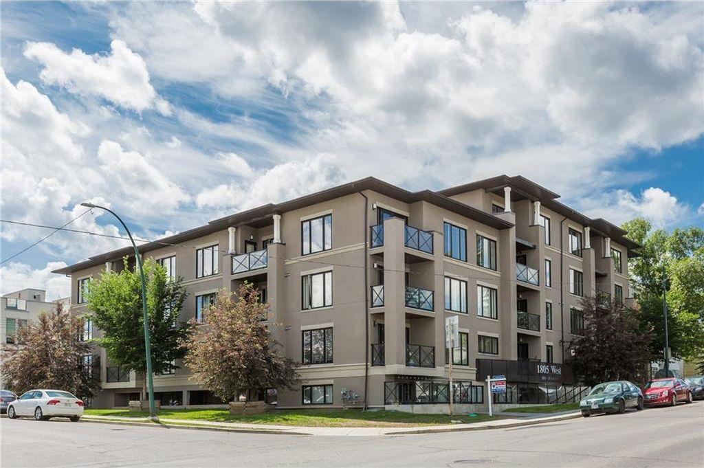 Main Photo: 205 1805 26 Avenue SW in Calgary: South Calgary Condo for sale : MLS®# C4125969