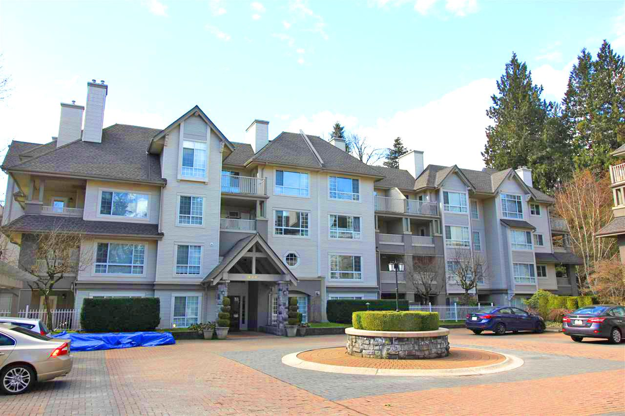 """Main Photo: 416 1242 TOWN CENTRE Boulevard in Coquitlam: Canyon Springs Condo for sale in """"THE KENNEDY"""" : MLS®# R2248234"""