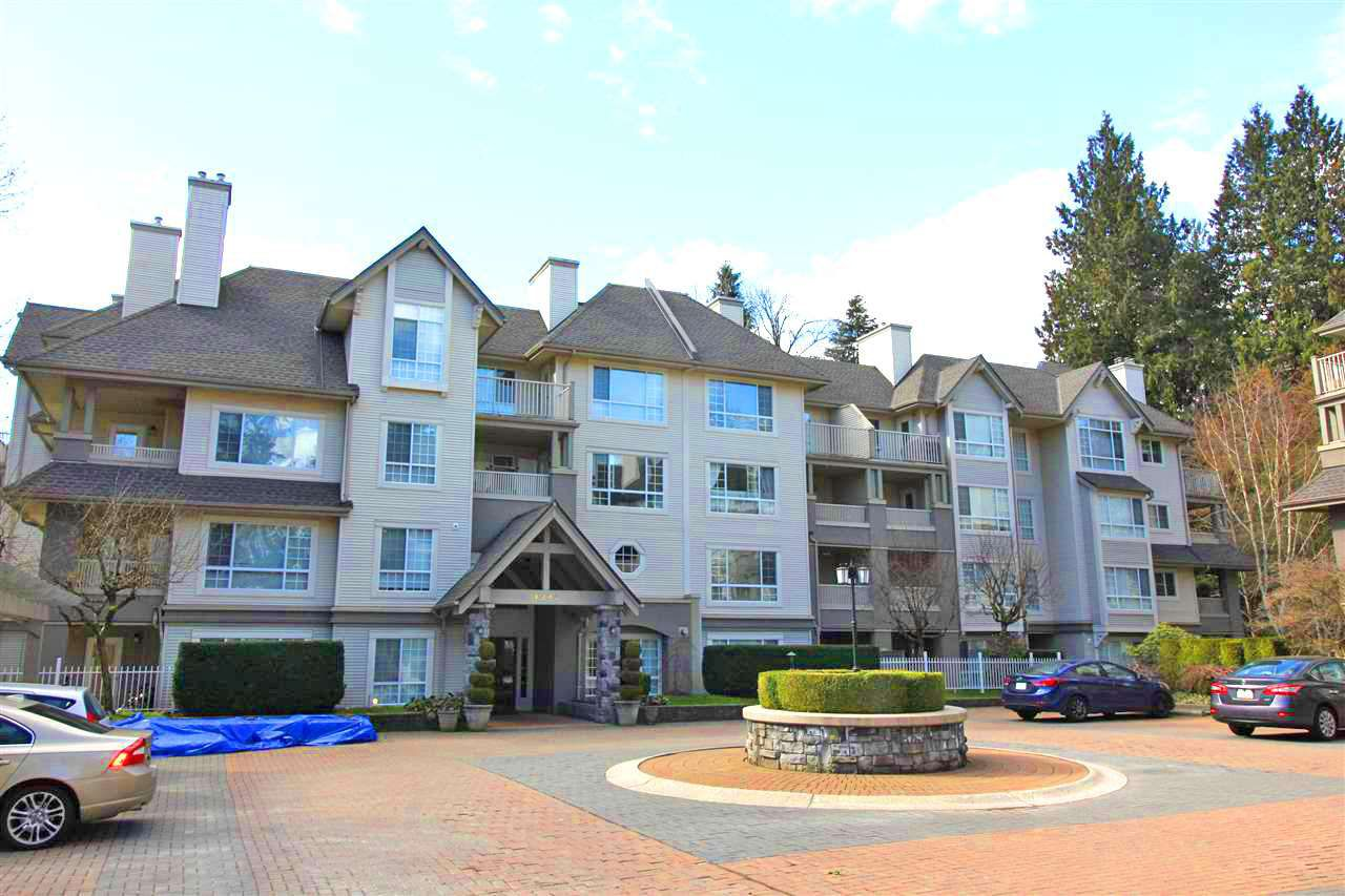 "Main Photo: 416 1242 TOWN CENTRE Boulevard in Coquitlam: Canyon Springs Condo for sale in ""THE KENNEDY"" : MLS®# R2248234"