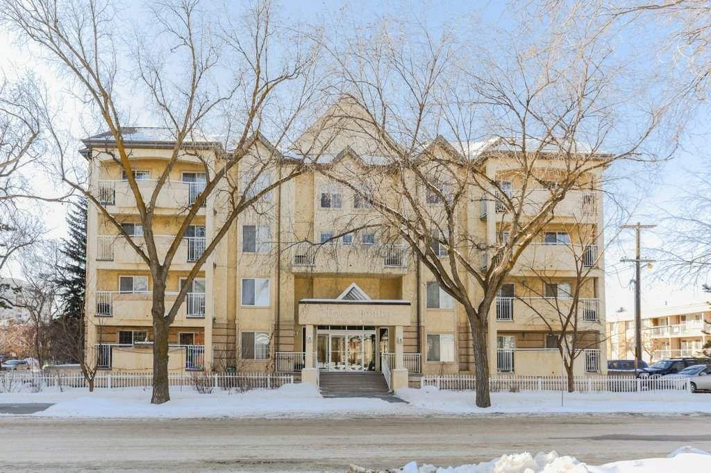 Main Photo: 307 10208 120 Street in Edmonton: Zone 12 Condo for sale : MLS®# E4145769