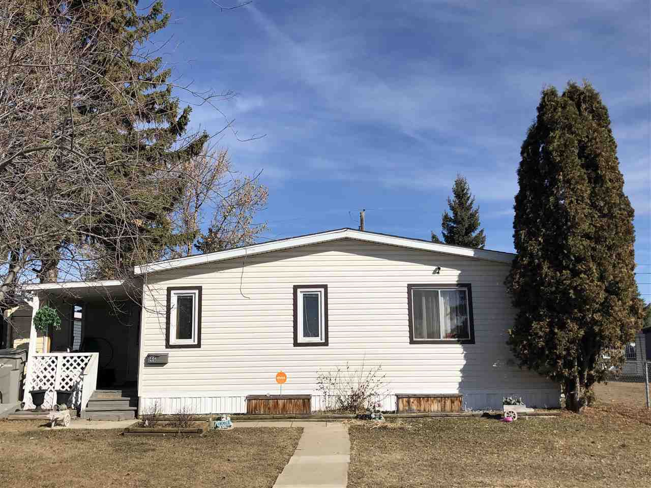 Main Photo: 46 4204 47 Street: Wetaskiwin Mobile for sale : MLS®# E4147428