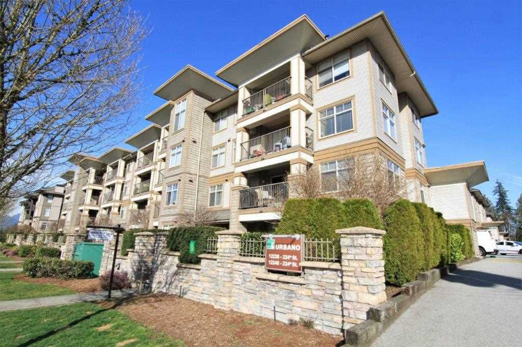 "Main Photo: 226 12248 224 Street in Maple Ridge: East Central Condo for sale in ""URBANO"" : MLS®# R2367613"