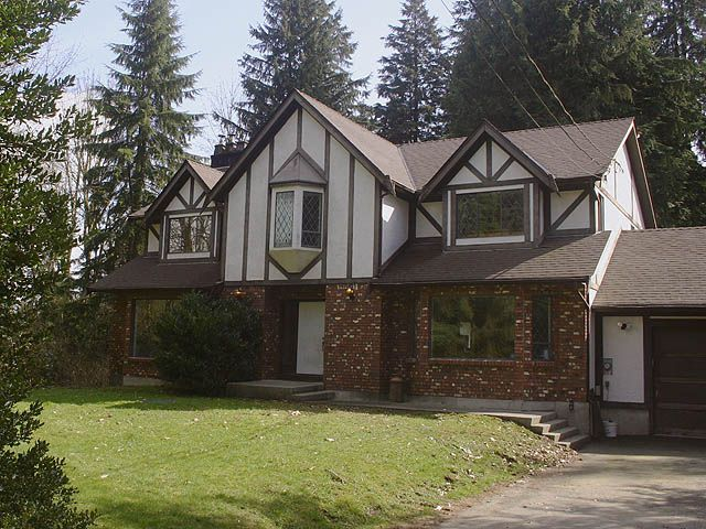 2-storey tudor-style home w/ full unfinished basement w/ separate entrance
