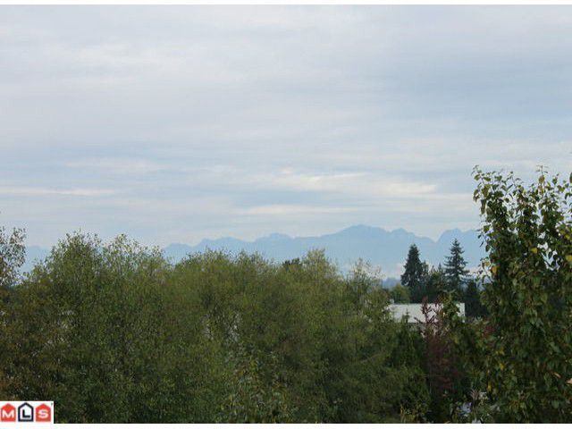 North Shore mountain view from living room windows