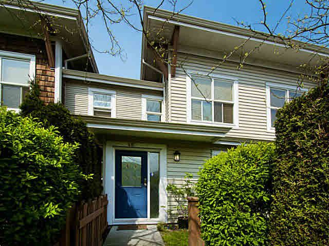 Main Photo: 48 7088 LYNNWOOD Drive in Richmond: Granville Townhouse for sale : MLS®# V1117877