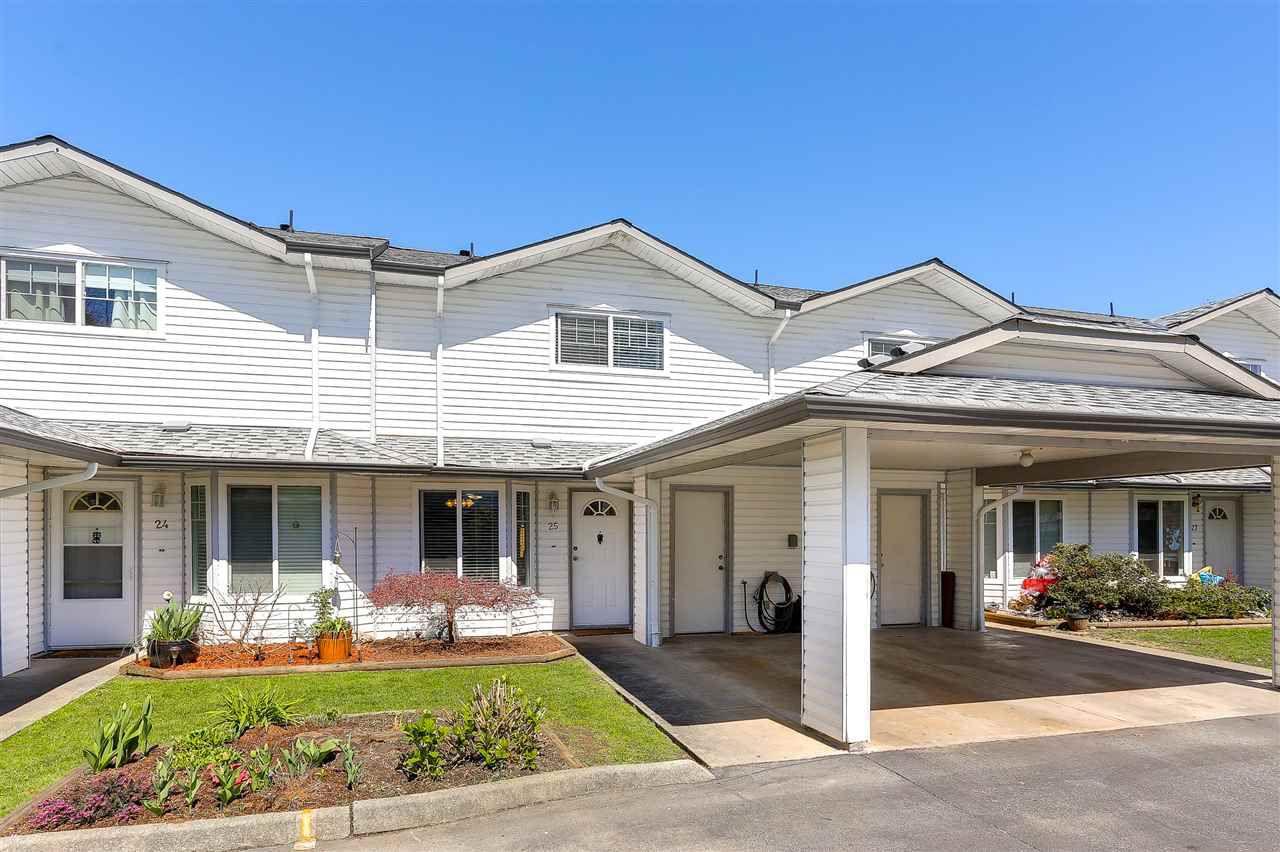 Main Photo: 25 11757 207TH Street in Maple Ridge: Southwest Maple Ridge Townhouse for sale : MLS®# R2158960