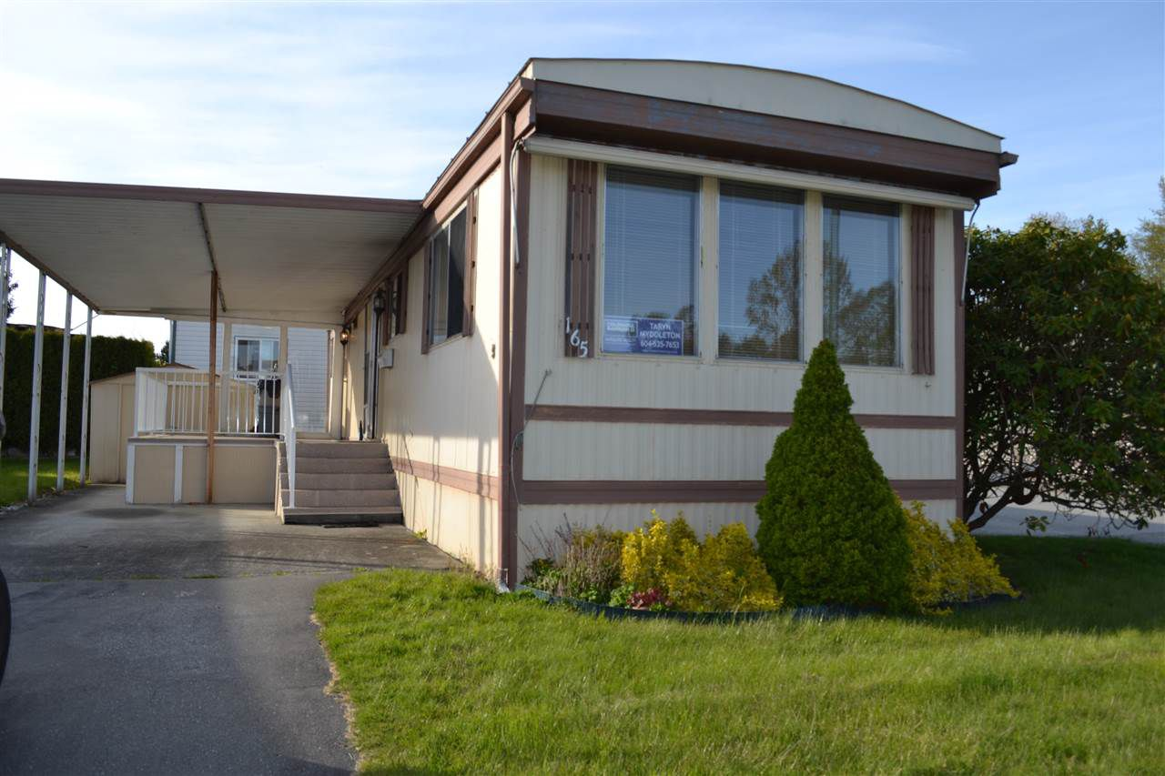"""Main Photo: 165 1840 160 Street in Surrey: King George Corridor Manufactured Home for sale in """"Breakaway Bays"""" (South Surrey White Rock)  : MLS®# R2158466"""