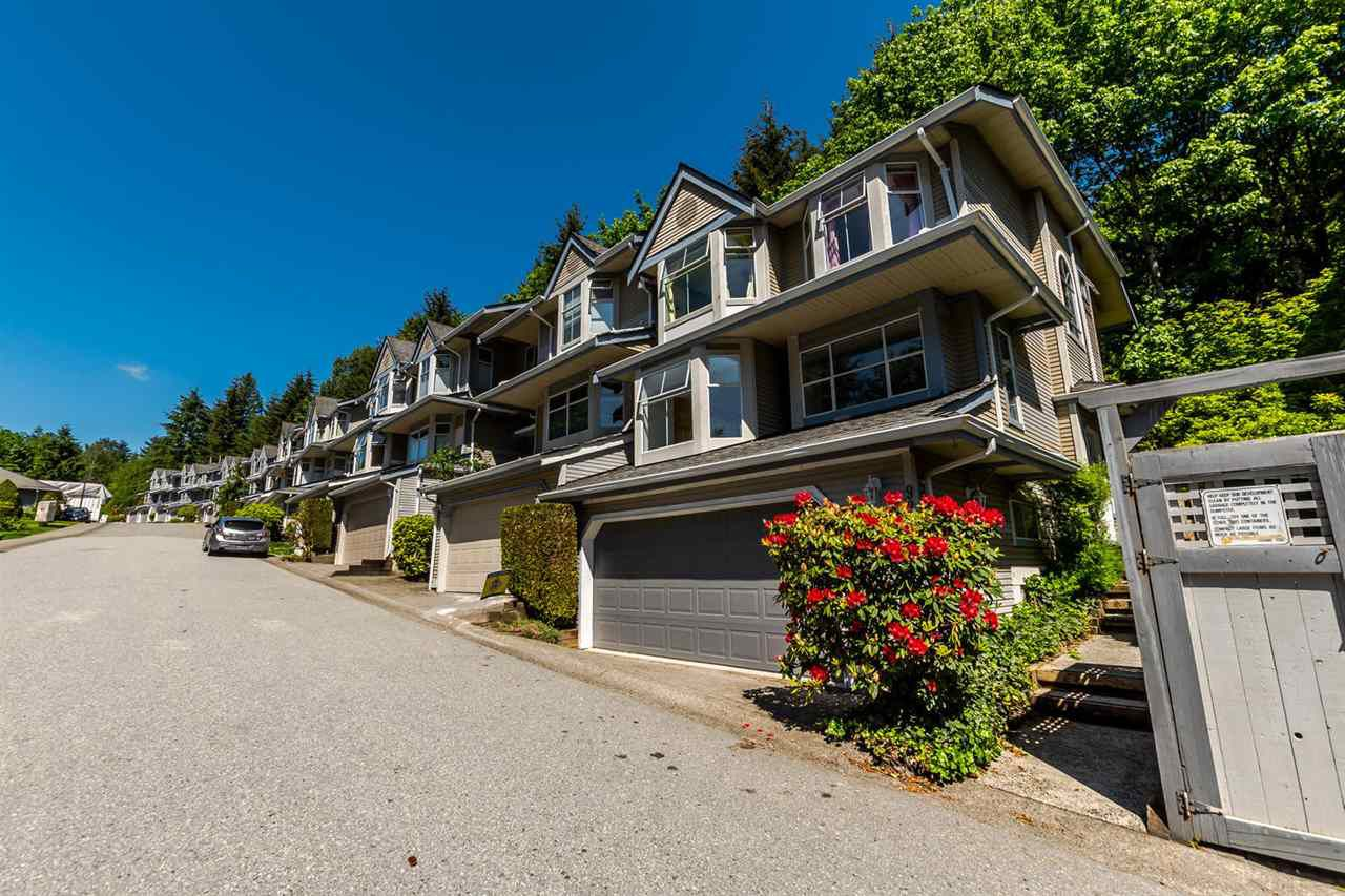 Main Photo: 9263 GOLDHURST TERRACE in Burnaby: Forest Hills BN Townhouse for sale (Burnaby North)  : MLS®# R2171039