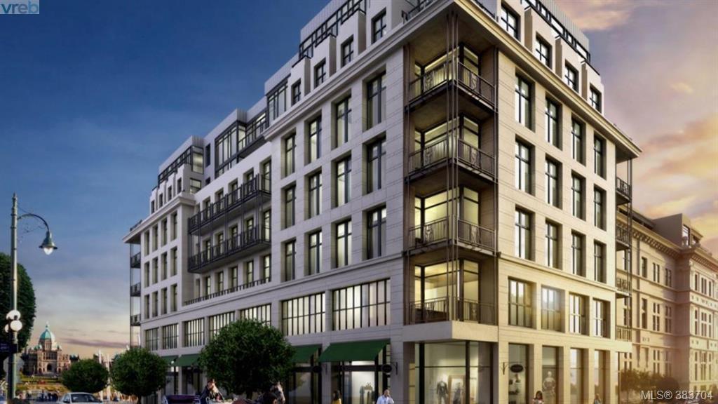 Main Photo: 604 816 Government Street in VICTORIA: Vi Downtown Condo Apartment for sale (Victoria)  : MLS®# 383704
