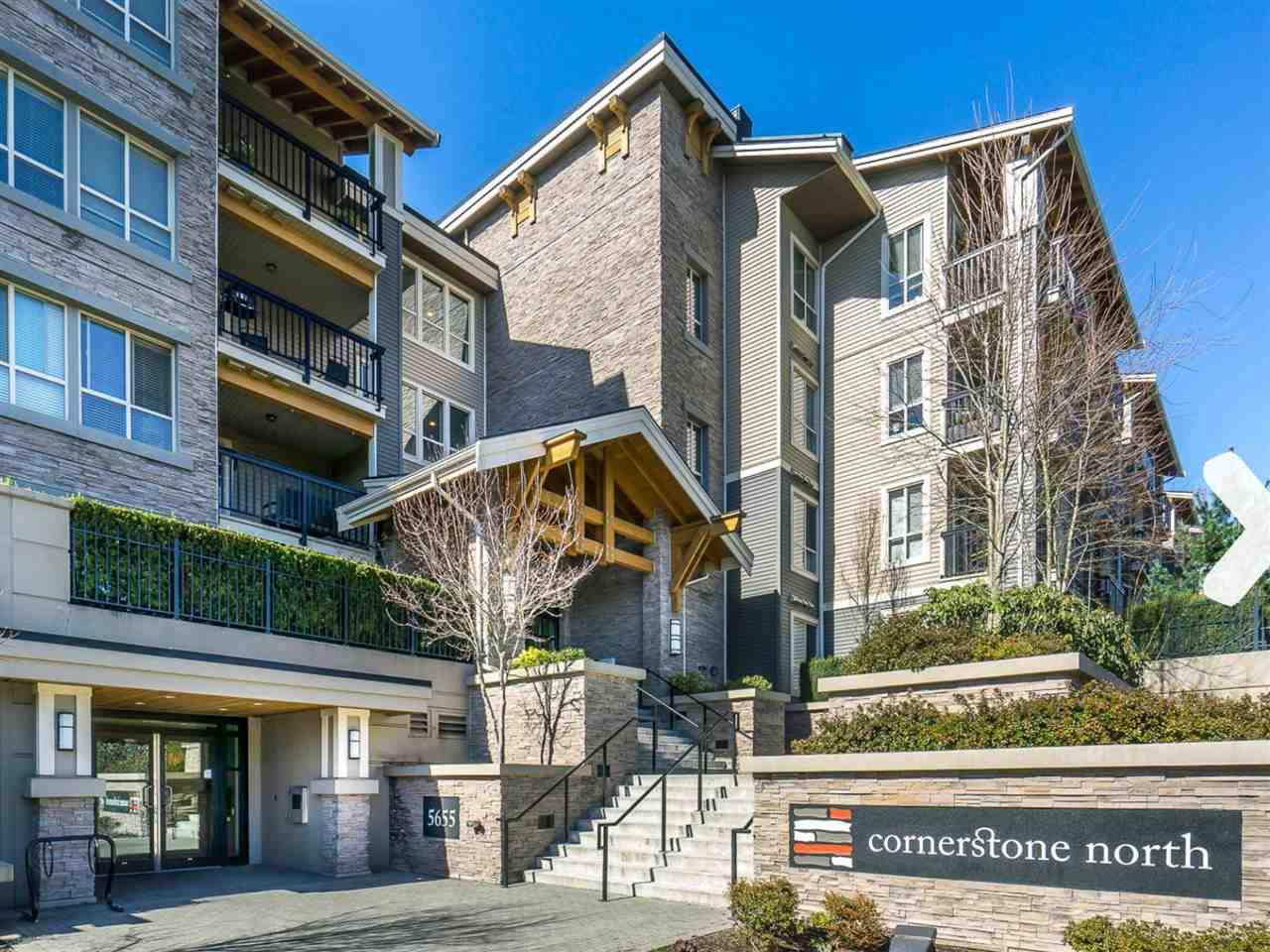 "Main Photo: 303 5655 210A Street in Langley: Salmon River Condo for sale in ""CORNERSTONE NORTH"" : MLS®# R2267414"