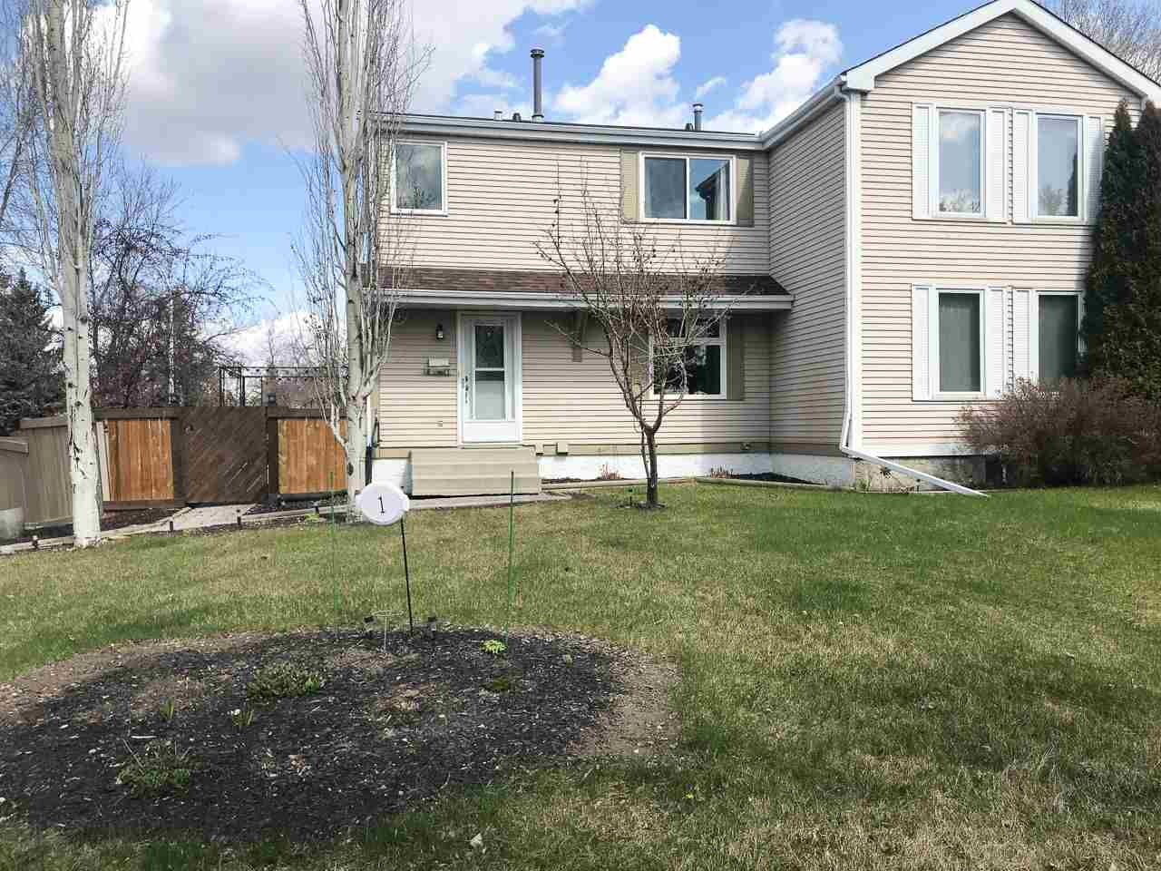 Main Photo: 1 WINDSOR Crescent: St. Albert House Half Duplex for sale : MLS®# E4150718