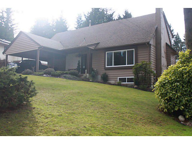 Main Photo: 2302 SUMPTER Drive in Coquitlam: Chineside House for sale : MLS®# V1045054