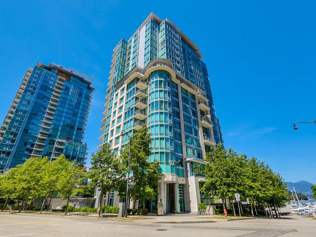 Main Photo: 1201 499 BROUGHTON Street in Vancouver: Coal Harbour Condo for sale (Vancouver West)  : MLS®# V1129972
