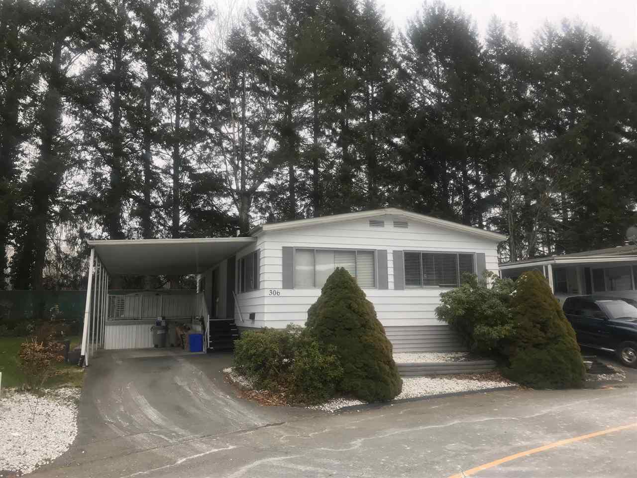 Main Photo: 306 1840 160 Street in Surrey: King George Corridor Manufactured Home for sale (South Surrey White Rock)  : MLS®# R2241802
