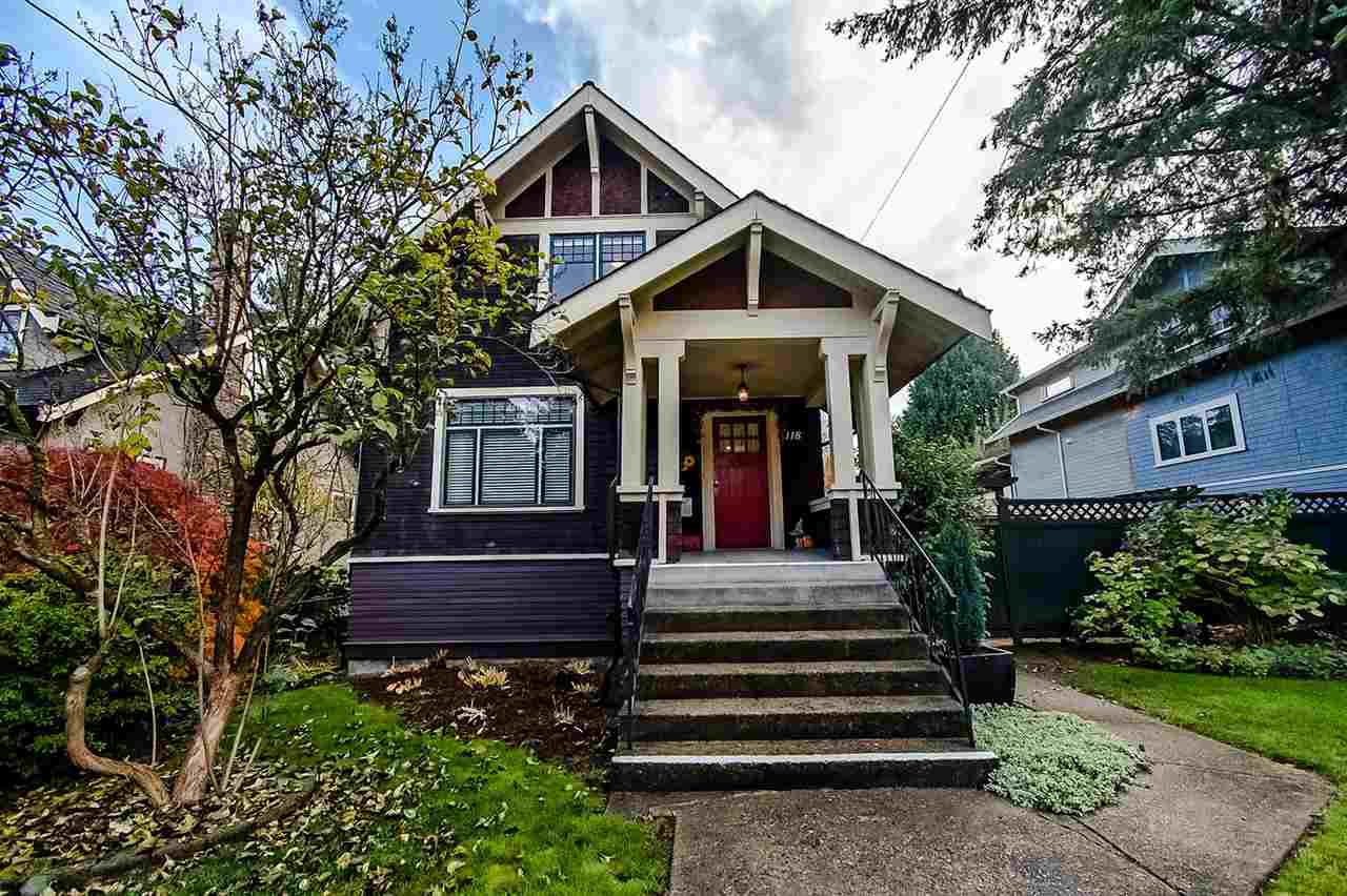 Main Photo: 118 REGINA Street in New Westminster: Queens Park House for sale : MLS®# R2318297