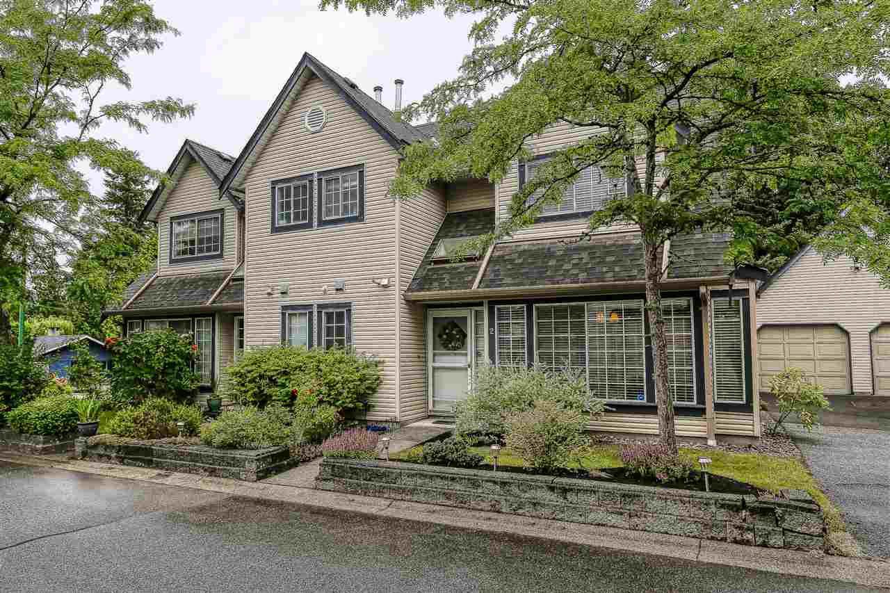 "Main Photo: 2 11536 236 Street in Maple Ridge: Cottonwood MR Townhouse for sale in ""Kanaka Mews"" : MLS®# R2386020"