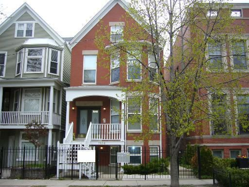 Main Photo: 1534 GEORGE Street Unit 1 in CHICAGO: Lake View Rentals for rent ()  : MLS®# 08504697