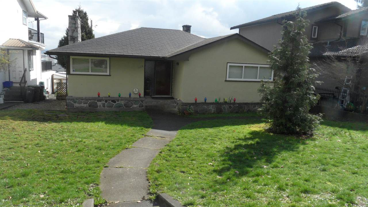 Main Photo: 116 MINER Street in New Westminster: Fraserview NW House for sale : MLS®# R2048715