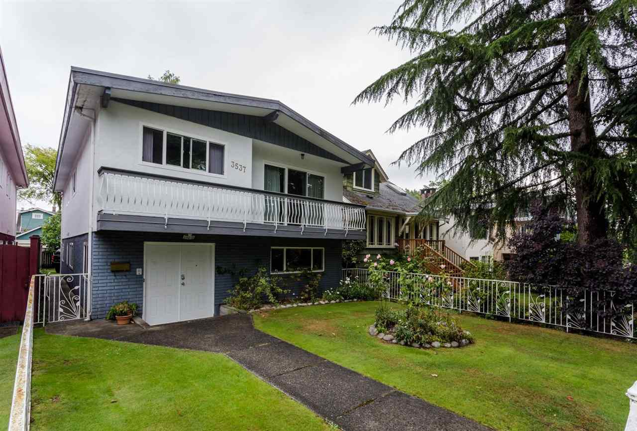 Main Photo: 3537 W KING EDWARD Avenue in Vancouver: Dunbar House for sale (Vancouver West)  : MLS®# R2099731