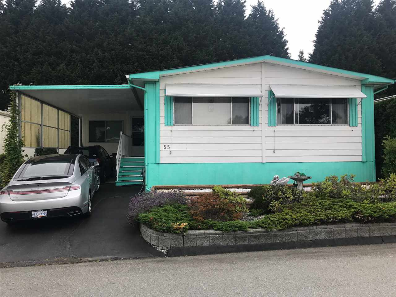 """Main Photo: 55 15875 20 Avenue in Surrey: King George Corridor Manufactured Home for sale in """"Sea Ridge Bays"""" (South Surrey White Rock)  : MLS®# R2190854"""