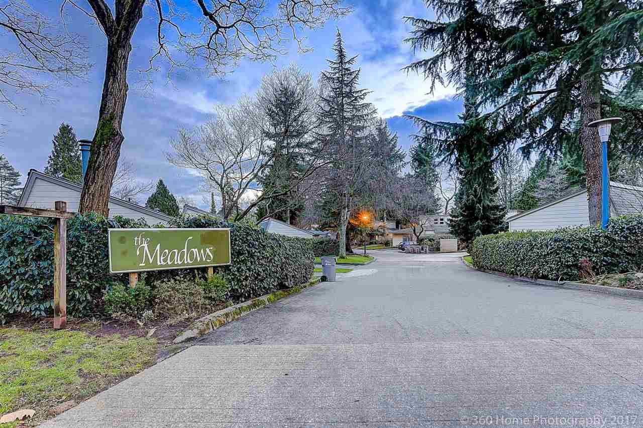 """Main Photo: 7357 CELISTA Drive in Vancouver: Champlain Heights Townhouse for sale in """"THE MEADOWS"""" (Vancouver East)  : MLS®# R2239272"""
