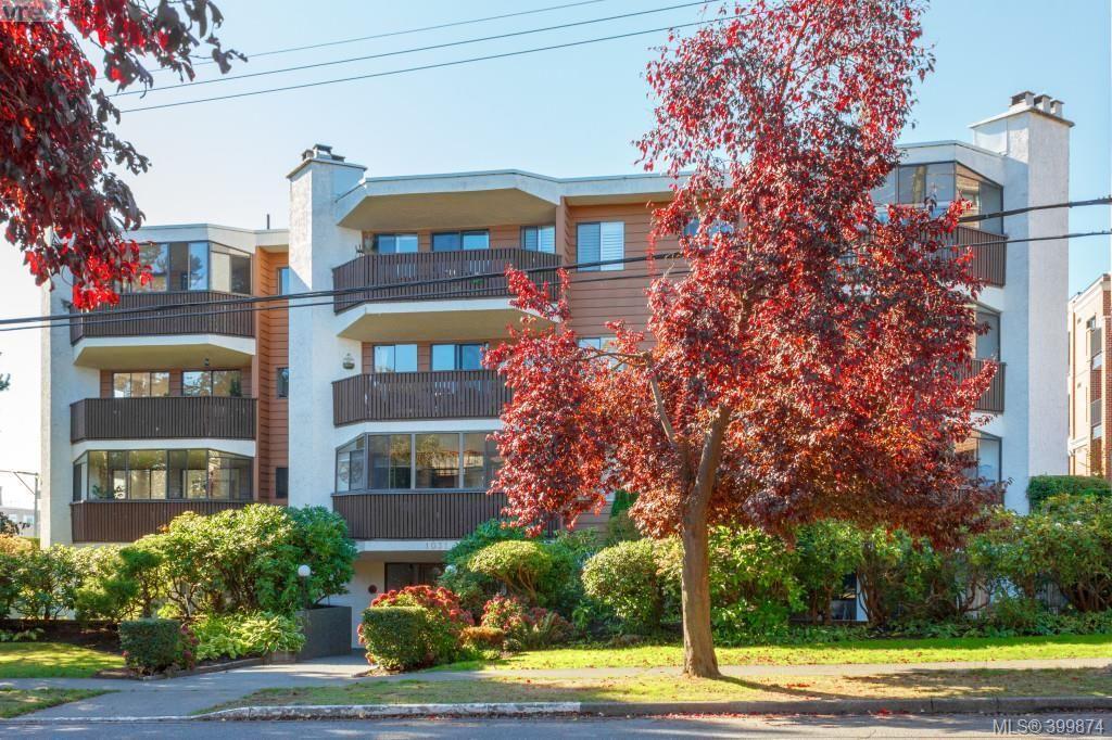 Main Photo: 407 1031 Burdett Avenue in VICTORIA: Vi Fairfield West Condo Apartment for sale (Victoria)  : MLS®# 399874