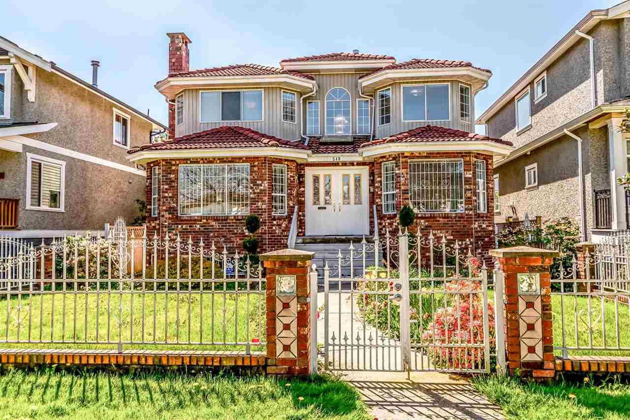 Main Photo: 540 E 26TH Avenue in Vancouver: Fraser VE House for sale (Vancouver East)  : MLS®# R2315330