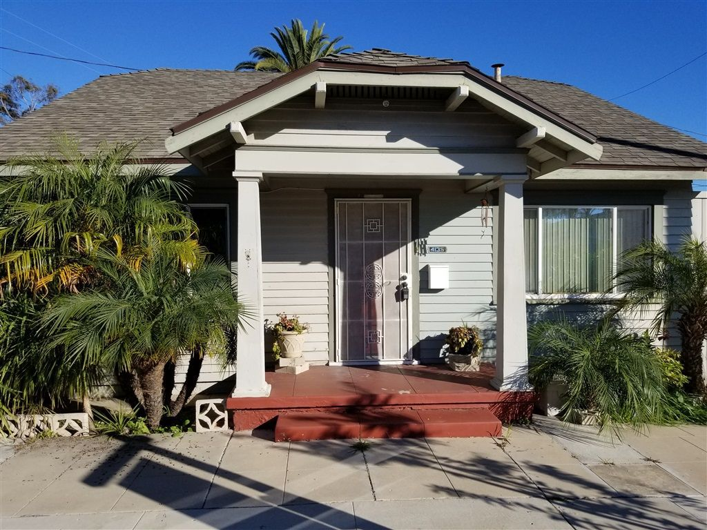 Main Photo: NORTH PARK Property for sale: 4135 32ND ST in San Diego