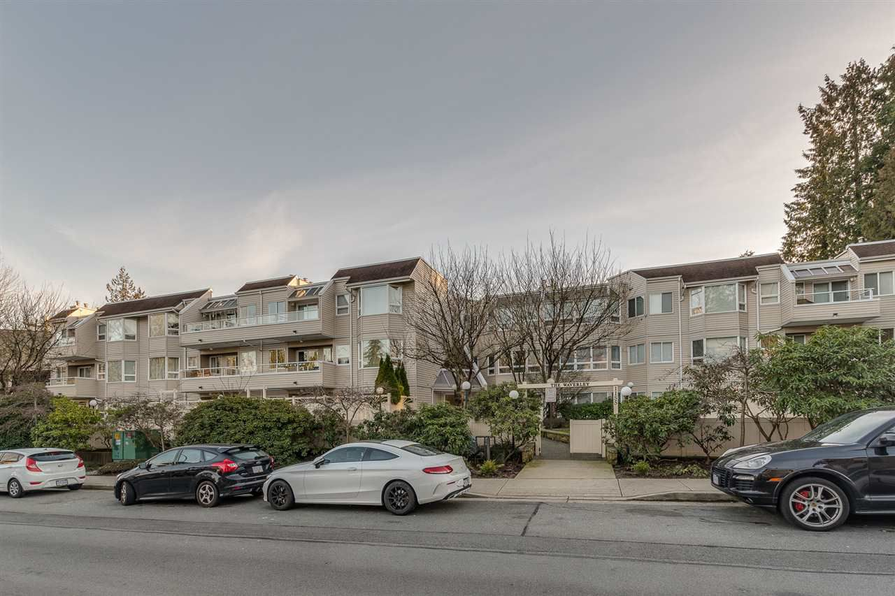 """Main Photo: 102 1155 ROSS Road in North Vancouver: Lynn Valley Condo for sale in """"THE WAVERLEY"""" : MLS®# R2337934"""