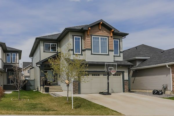 Main Photo: 7626 GETTY Link in Edmonton: Zone 58 House for sale : MLS®# E4146174